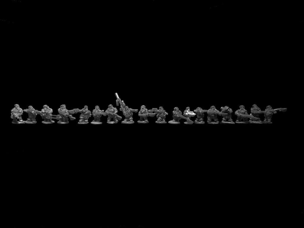 15mm Sci-Fi Dwarves….