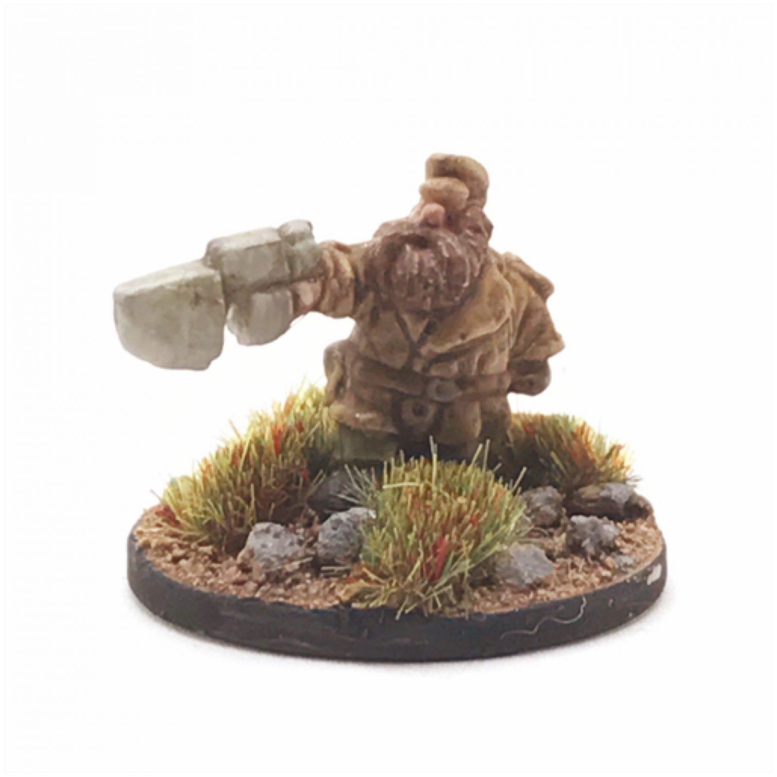 Dwarf Clansmen – Captain 1