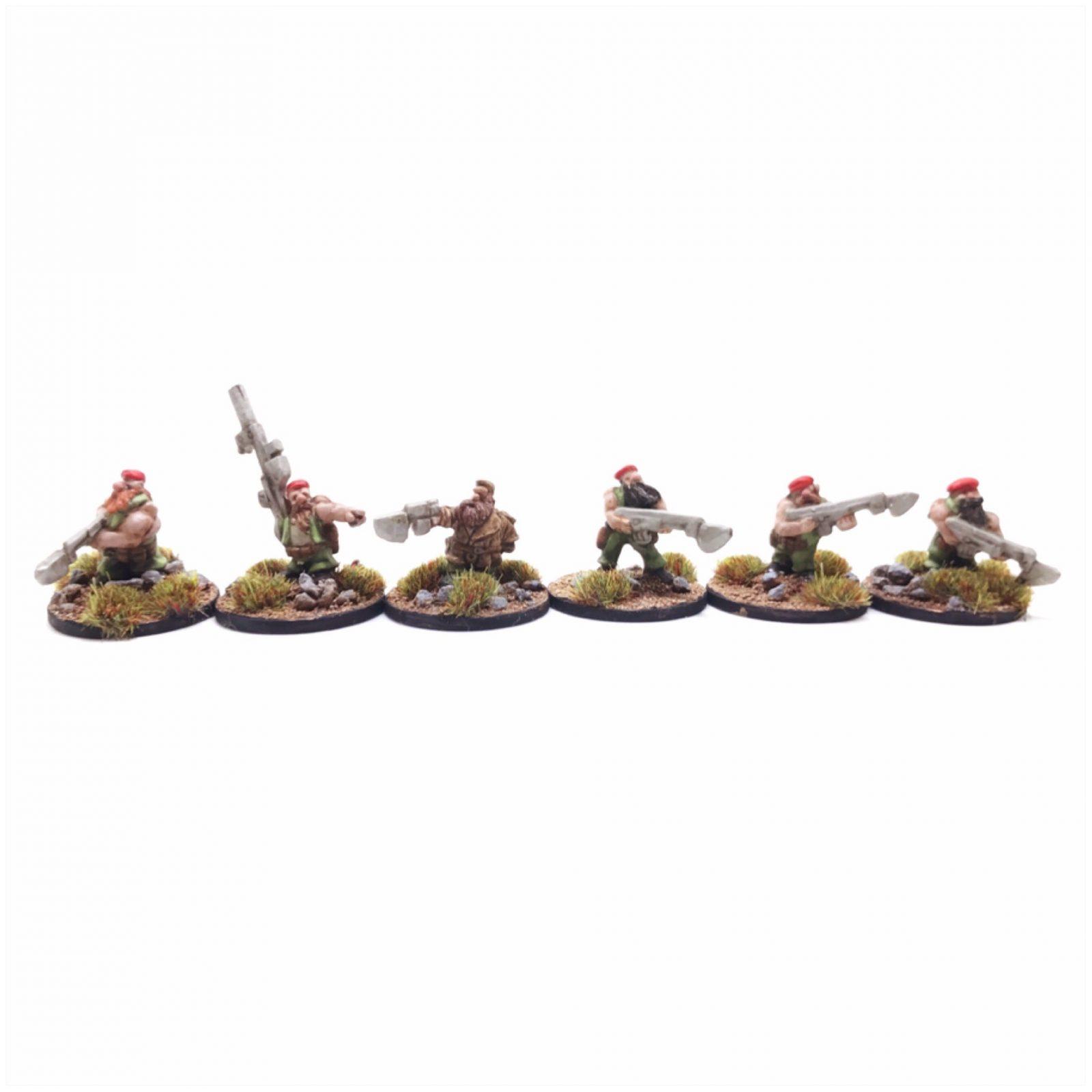 Dwarf Clansmen Command – Pack 1