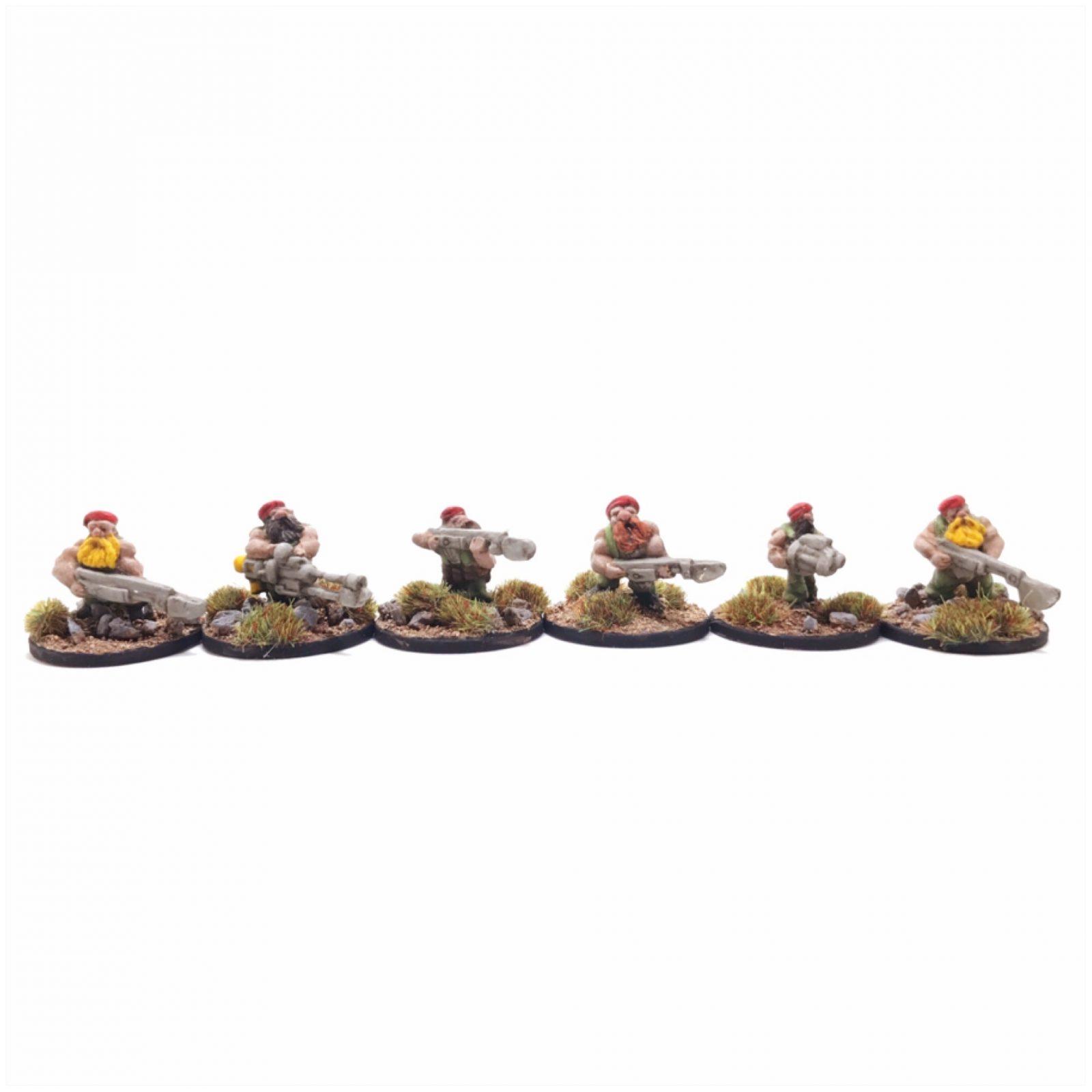 Dwarf Clansmen – Pack 1