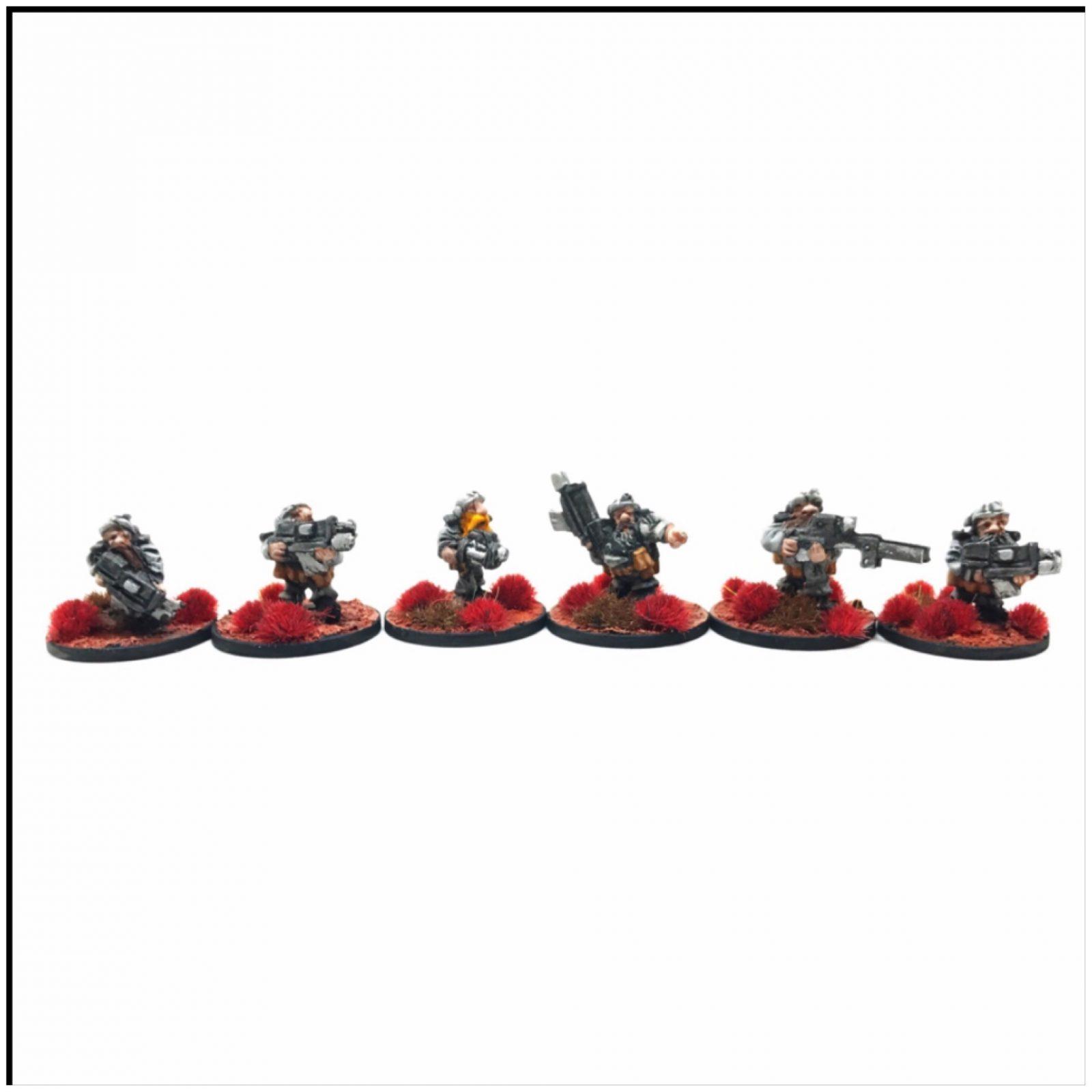 Dwarf Hearthguard – Pack 1