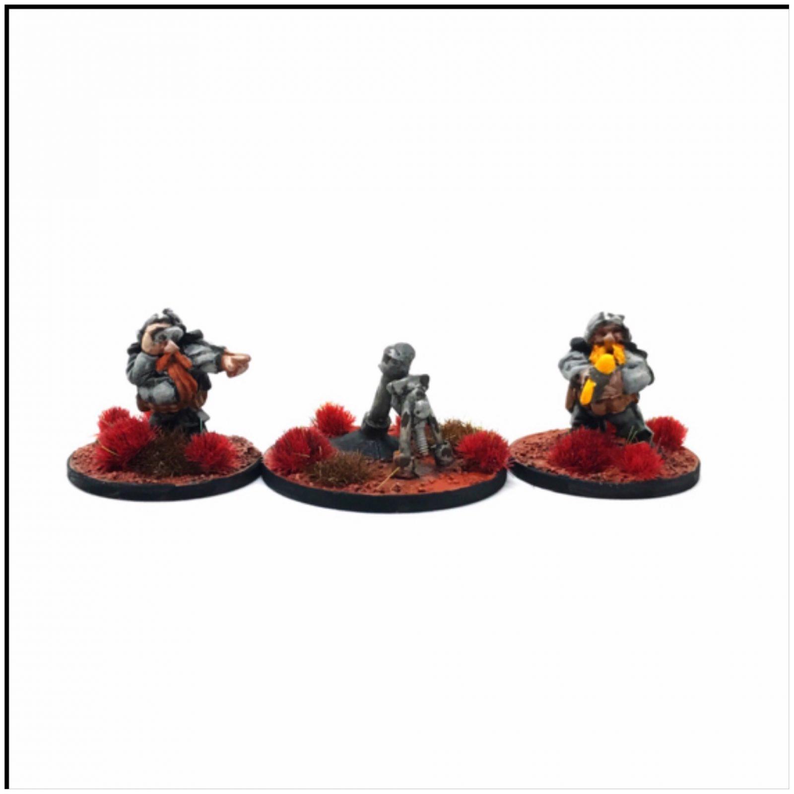 Dwarf Hearthguard – Mortar Team