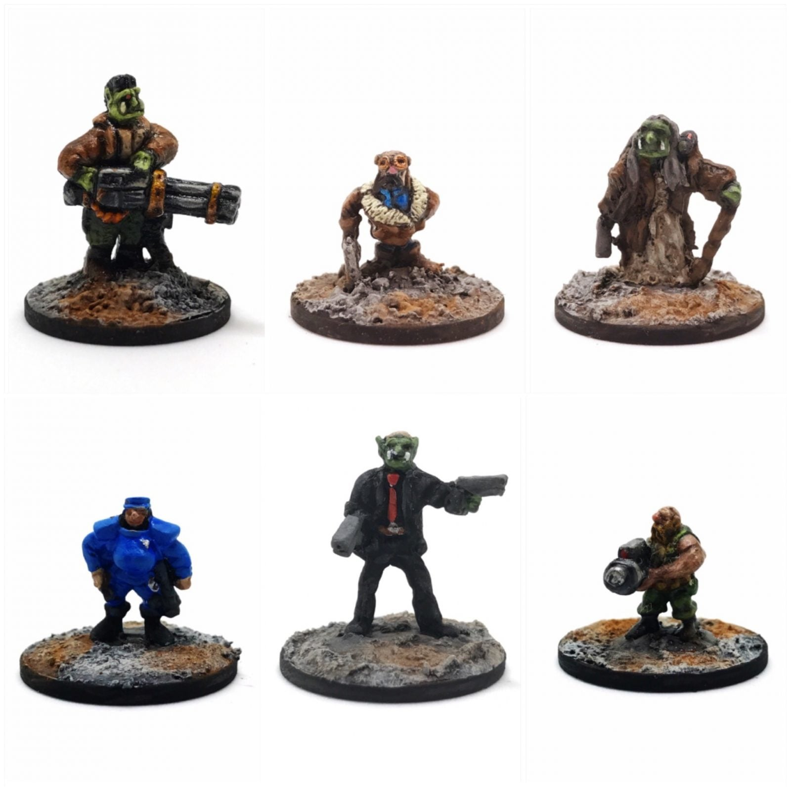 Cyberpunk Fantasy – Pack 1