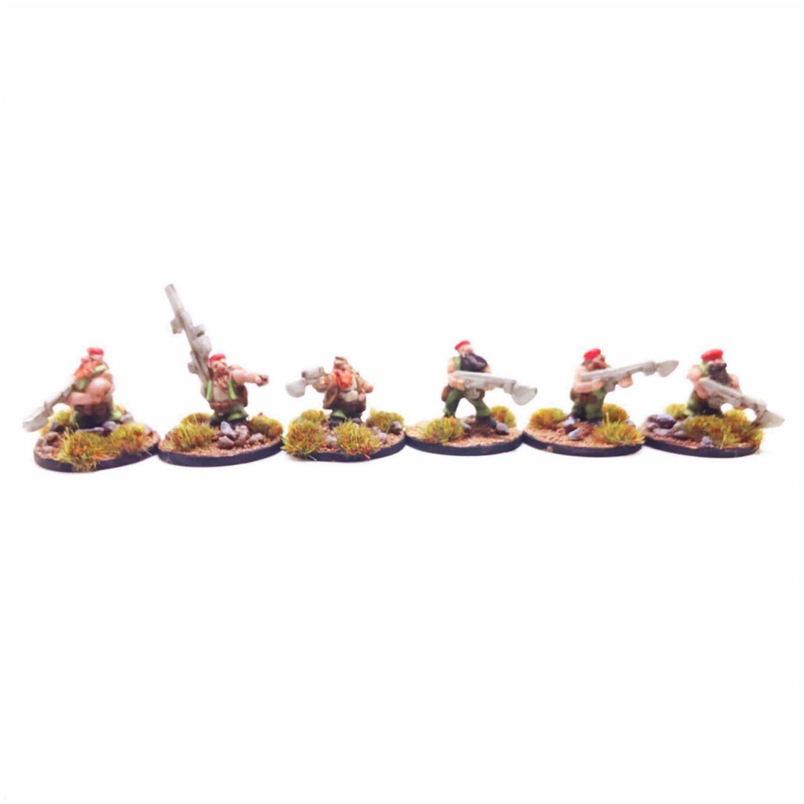 Dwarf Clansmen Command – Pack 2