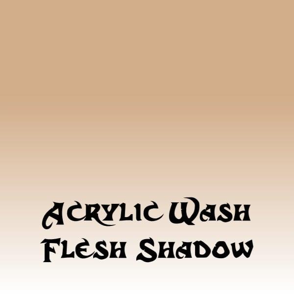Acrylic Wash – Flesh Shadow (15ml)