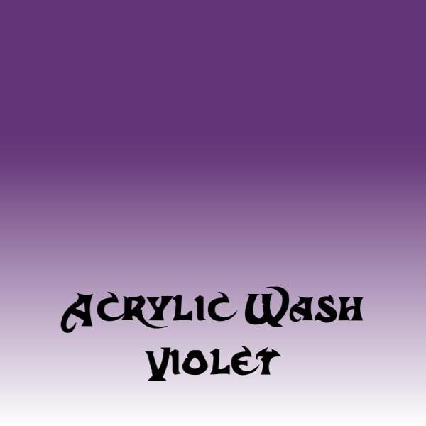 Acrylic Wash – Violet (15ml)