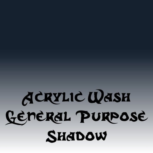 Acrylic Wash – General Purpose Shadow (15ml)