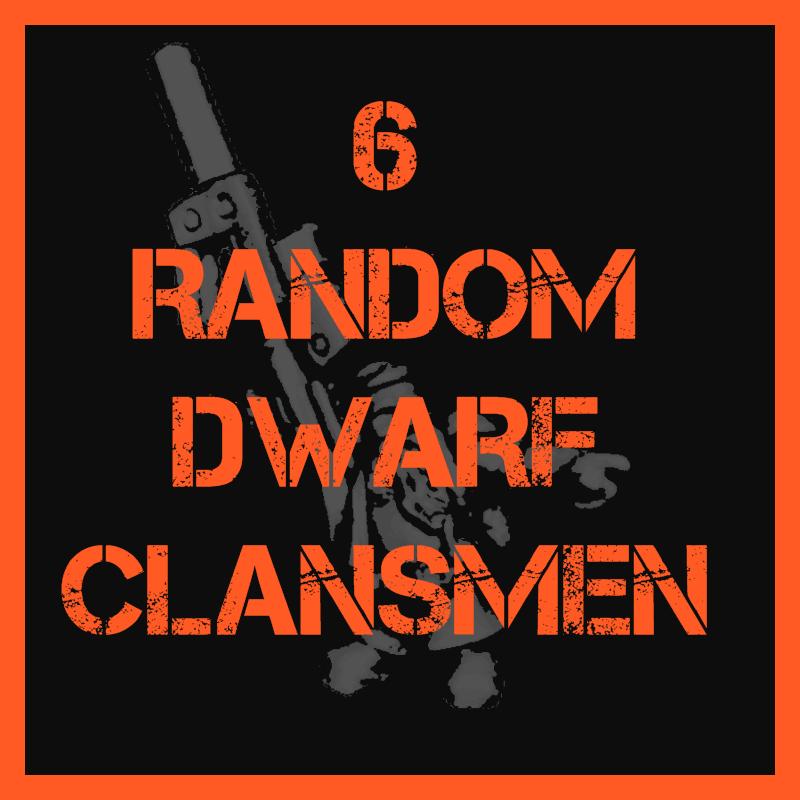 Dwarf Clansmen – Random Troopers Pack