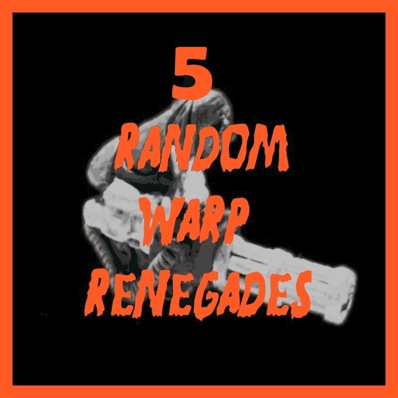Warp Renegades – Random Troopers Pack