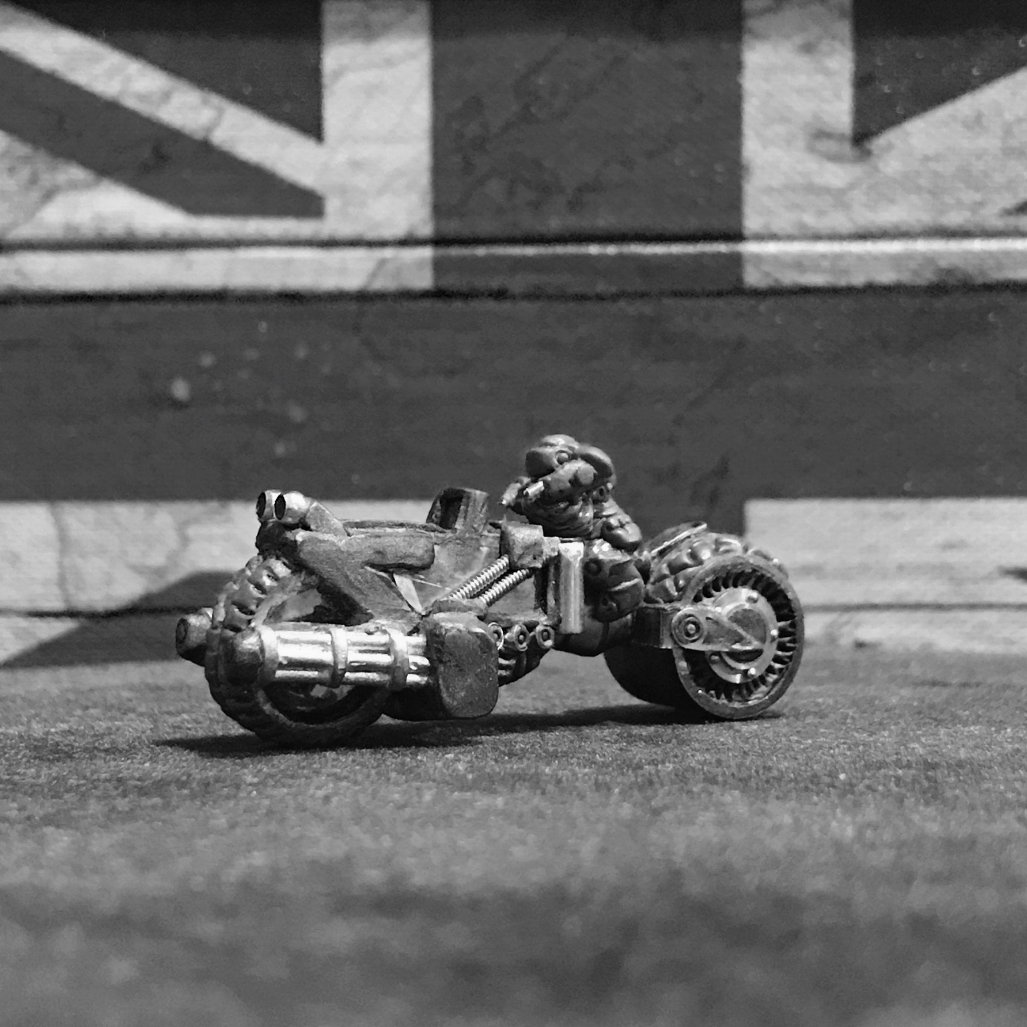 Dwarf Hearthguard – Fast Assault Bike (FAB)