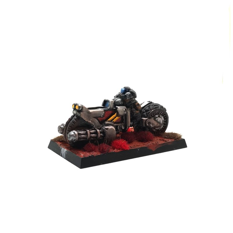 Dwarf Hearthguard – Fast Assault Bike (FAB)