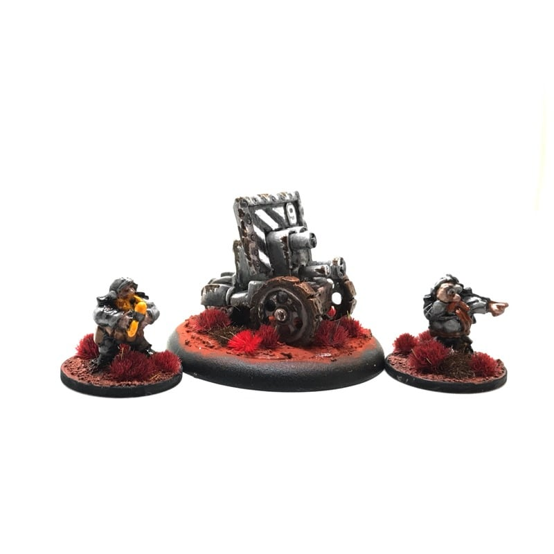 Dwarf Hearthguard – AS-14 Shaker Cannon