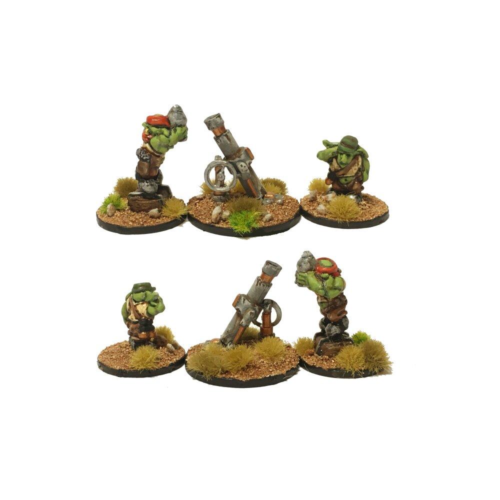 Sci-Fi Goblins – Heavy Mortar Team
