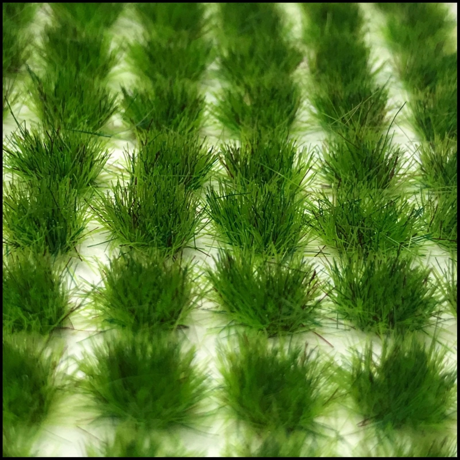 Grass Tufts (4mm) – Bright Grass (Dots or Natural)