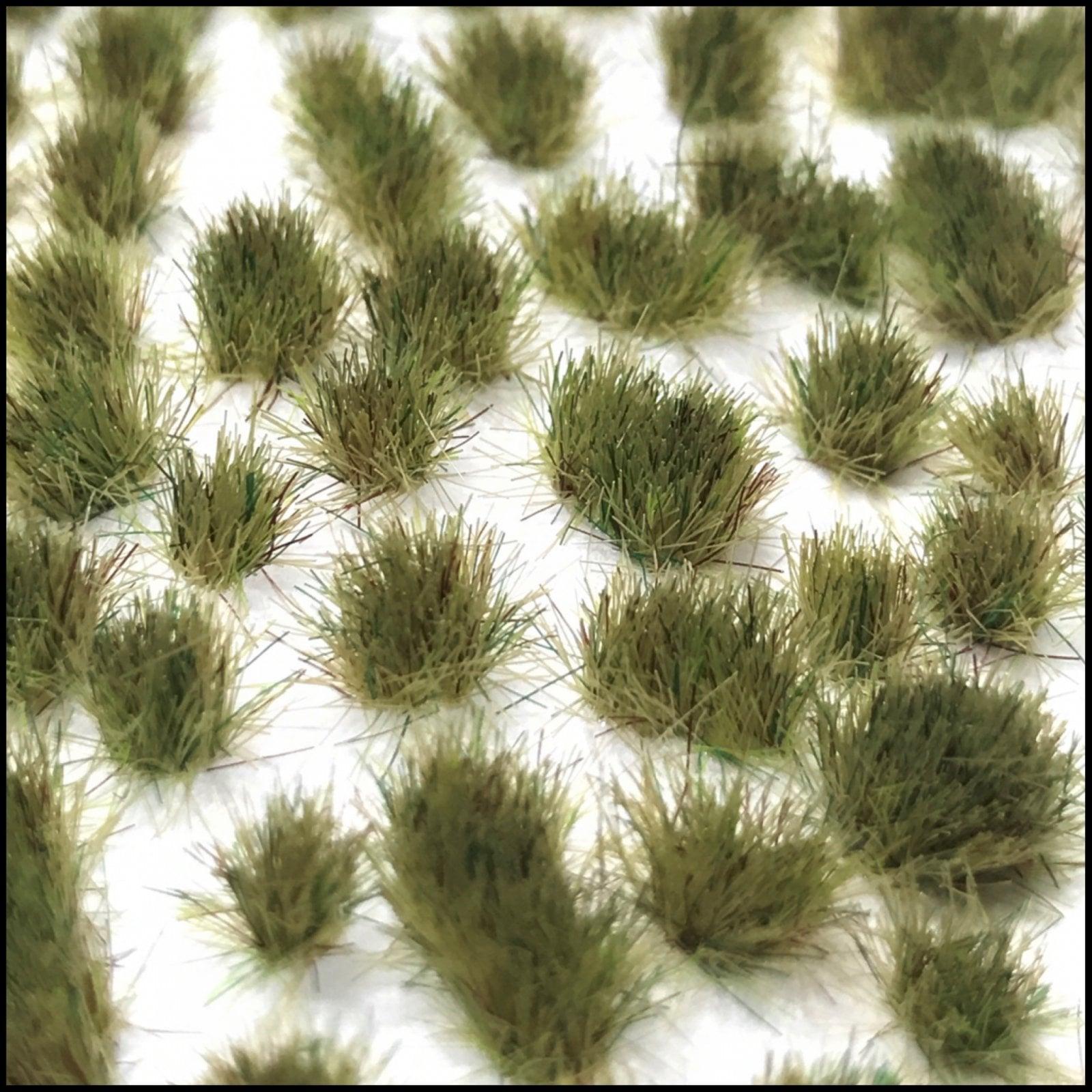 Grass Tufts (4mm) – Light Green Grass (Dots or Natural)