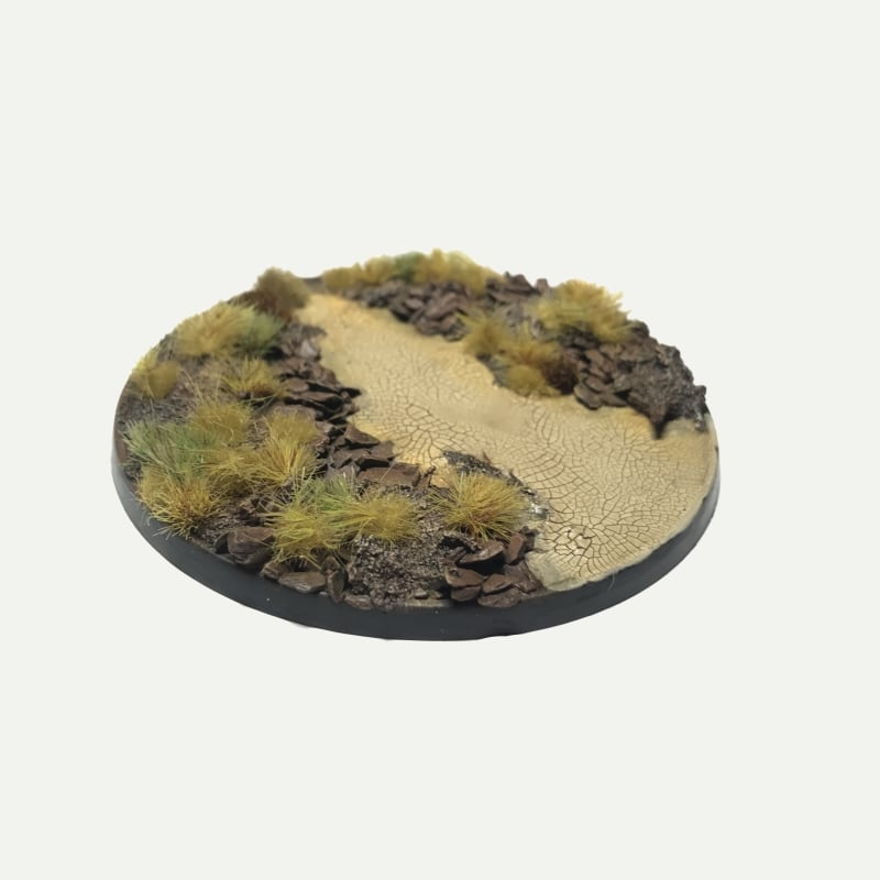 80mm Pre-Painted Bases – Wasteland Theme
